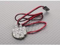 12 LED-Cluster - ROT