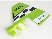 Grüne MX2 3D - Ersatz-Seitenleitwerk