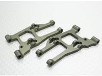 Aluminium-Front Lower Suspension Arm (2ST / Bag) - A2003T, A2027, A2029, A2035 und A3007
