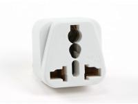 Turnigy WD-010 Fused 13 Ampere Netzstrom Multi-Adapter-Weiß (Indien-Stecker)