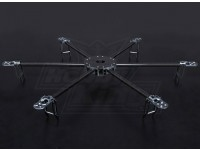 Turnigy Talon Hexcopter (V1.0) Carbon Fiber-Rahmen - 625mm