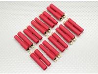 HXT 4mm Goldstecker w / Vorinstallierte Bullets (10pcs / set)