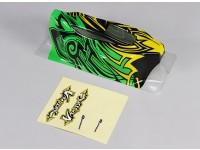 Körper (gemalt) w / Decal - 1/10 Quanum Vandal 4WD Racing Buggy