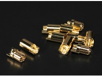 Polymax 6.5mm Goldverbindungs 5 Paare (10 Stück)