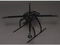 Hobbyking X580 Glass Fiber Quadcopter Rahmen w / Kamerahalterung 585mm