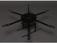 Hobbyking SX650 Glass Fiber Hexcopter Rahmen 650mm