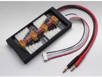 Hobbyking Sicher 40A Parallel Ladeplatine für 4 Packs 2 ~ 6S (XT60)