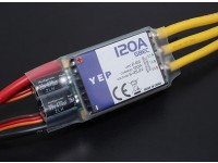 Hobbyking YEP 120A LV (2-6S) Brushless-Regler mit zuschaltbarem SBEC