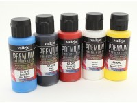 Vallejo Premium-Farbe Acrylfarbe - Grund Opaque-Auswahl (5 x 60 ml)