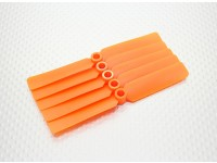 Hobbyking ™ Propeller 4x2,5 Orange (CW) (5 Stück)