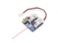 2,4 GHz Super Systems - DSM2 kompatiblen Receiver w / Brushed ESC, Linear Servos