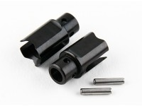 Basher RZ-4 1/10 Rally Racer - Front Starrachse Spool Outdrive - Stahl (2 Stück)