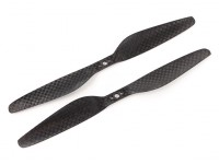 Acromodelle Carbon-Faser T-Style Propeller 7x2.4 Schwarz (CW / CCW) (2 Stück)