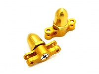 2.3mm 2 Klinge CNC Folding Propeller Adapter CW & CCW (Gold)