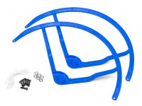 9-Zoll-Kunststoff-Multi-Rotor Propeller Schutz für DJI Phantom 2 - Blau (2set)