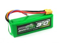 Multistar High Capacity 3S 3000mAh Multi-Rotor Lipo-Pack