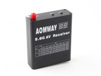 Aomway DVR 5.8GHz 32CH Video-Receiver mit eingebautem Videorekorder