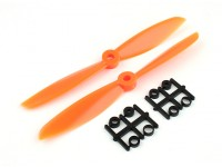 Gemfan Propeller 6x4,5 Orange (CW / CCW) (2 Stück)