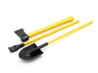 Maßstab 1:10 Werkzeug-Set - Gelb