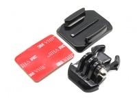 Helmhalter mit Schnellspanner für Turnigy Action Cam / GoPro Kamera