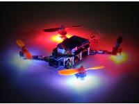 Hermit 145 FPV Quadcopter w / Motoren / ESC / Flight Controller / Receiver (Kit) (Low Latency Version)