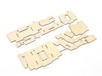 Durafly® ™ Tundra - Sperrholz FPV Tray (Kit)