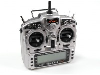 FrSky 2,4 GHz ACCST TARANIS X9D / X8R PLUS Telemetry Radio System (Mode 1) EU-Version