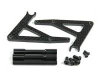 BSR 1000R Ersatzteil - optional Carbon Fiber Fahrradständer
