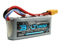 Turnigy Bolt 1300mAh 3S 11,4 V 65 ~ 130C High Voltage Lipo-Pack (LiHV)