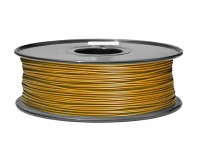 Hobbyking 3D-Drucker Filament 1.75mm PLA 1KG Spool (Metallic Gold)