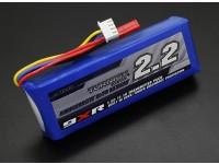 Turnigy 9XR Sicherheit Geschützte 11.1v (3s) 2200mAh 1.5C Transmitter-Pack