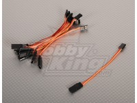 10CM Servokabel (JR) 32AWG Ultra Light (10pcs / bag)