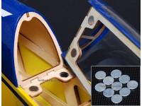 Starke Seltene-Erde-Knopf Magnete (10pcs / set)