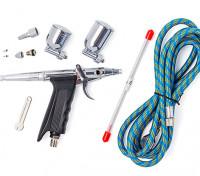 Twin-Aktion Feine Nadelpistole Air Brush Set