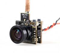 VM275T 5.8GHz 25mW 48CH NTSC/PAL Mini VTX 600TVL FPV Camera (Cloverleaf Antenna)