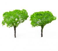 HobbyKing™ 90mm Light Green Scenic Wire Model Trees (2 pcs)