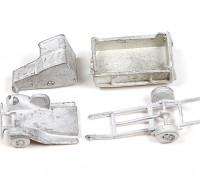 Micro Engineering N Scale Wheel Works 1930's Open Dump Truck Kit 1pc (96-126)