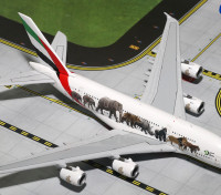 "Gemini Jets Emirates Airlines Airbus A380-*800 ""United for Wildlife #3"" A6-EEQ 1:400 Diecast Model GJUAE1594"