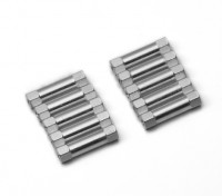 3x20mm Alu. geringes Gewicht runden Ständer (Splitter)