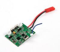 Rocksta 4WS 2,4 GHz 2 in 1 wasserdichte 2-Kanal-Empfänger und ESC