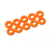 2 in 1 O-Ring-Kit (neon orange) -10pcs / bag