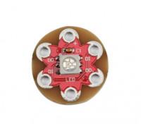 Lilypad Tragbarer WS2812 Full Color 5050 RGB LED-Modul
