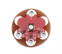 Lilypad Tragbarer Vollfarbe 1 * 3528 RGB LED-Modul