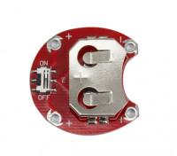 Lilypad Tragbarer CCR-2004 Knopfzellen-Batteriemodul