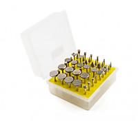 50PCS / set Diamantschleifkopf Schleifscheiben-Bur Schleifmaschine für Dremel Schleifpräzisionswerkzeuge