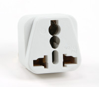 Turnigy WD-7 Fused 13 Ampere Netzstrom Multi-Adapter-Weiß (UK-Stecker)