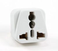 Turnigy WD-5 Fused 13 Ampere Netzstrom Multi-Adapter-Weiß (US-Stecker)