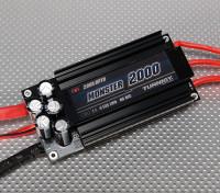 Turnigy Monster-2000 200A 4-12S Brushless Regler