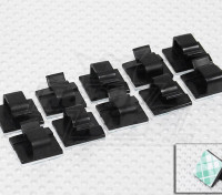 Tie-D-Wires Cable & Wire-Halter (10 Stück)