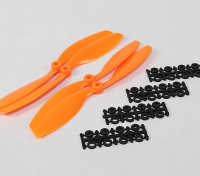 8045 SF Props 2pc CW 2 pc Linkslauf (orange)